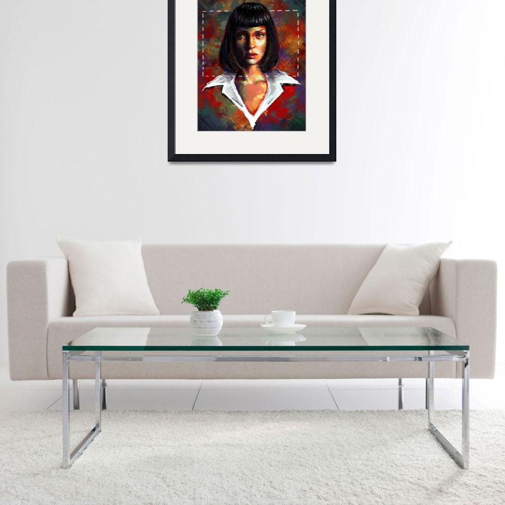 """""""Mia Wallace&quot  (2014) by lauraferreira"""