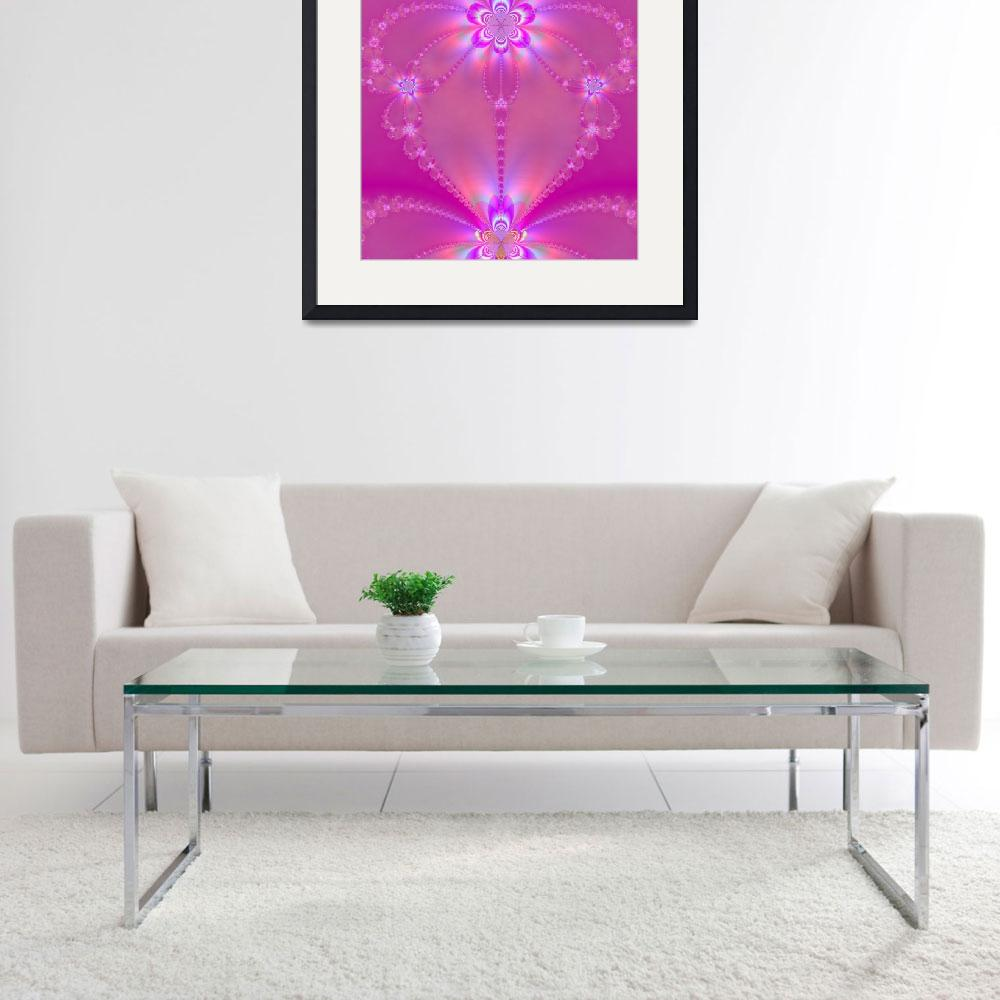 """""""PINK HEART&quot  (2015) by GinaRodella"""