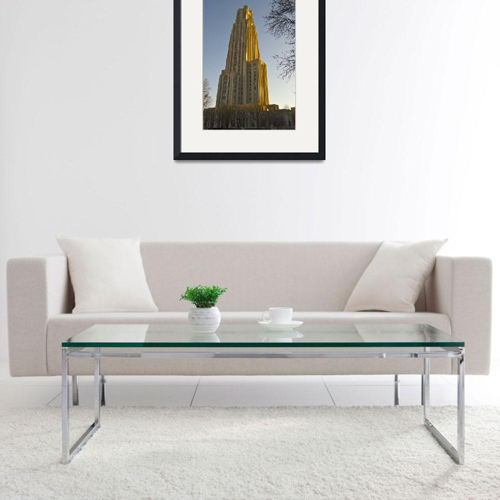 """Cathedral of Learning&quot  (2011) by yakk0dotorg"