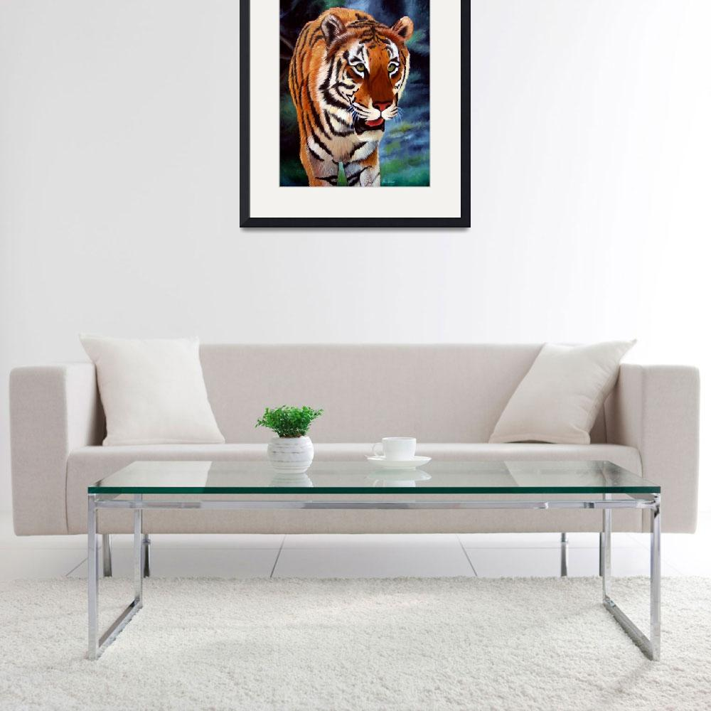 """""""Bengal Tiger&quot  by AraWitmer"""