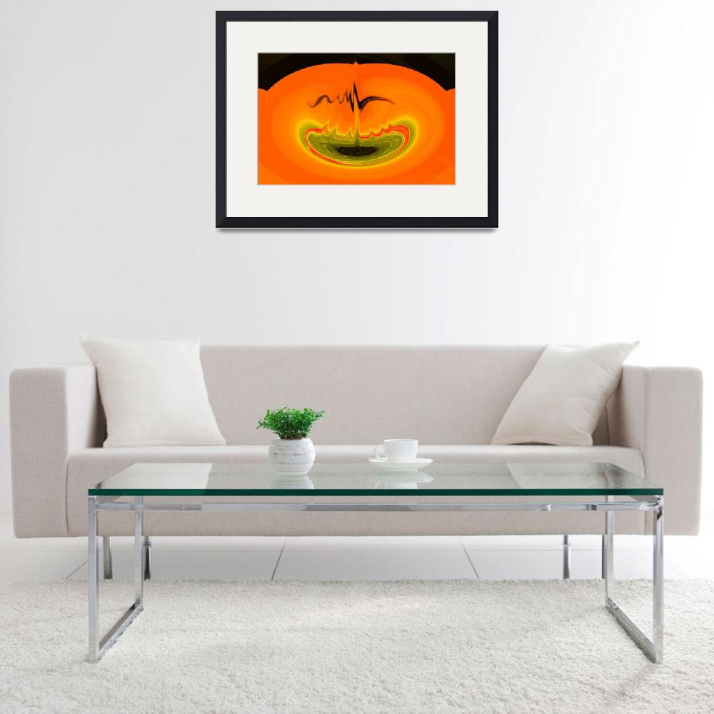 """""""Pumpkin Candle&quot  by jazzfulart"""