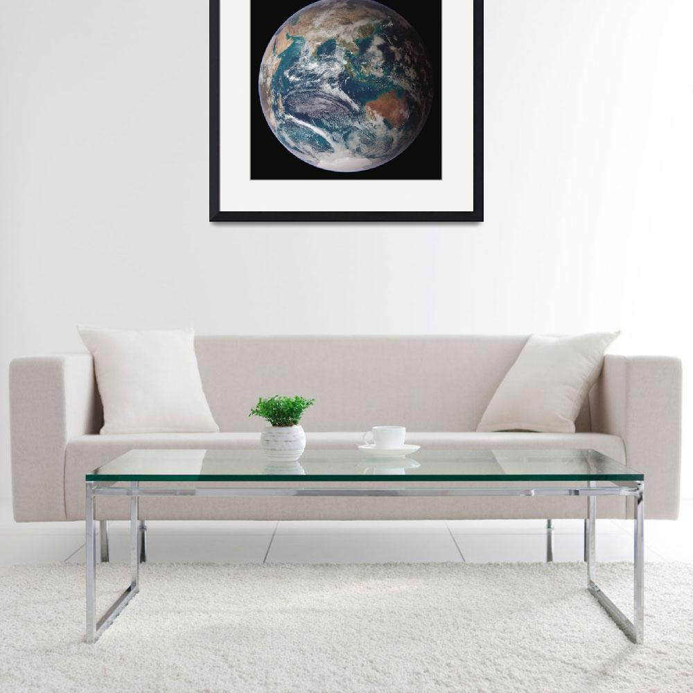 """""""Full view of Earth&quot  by stocktrekimages"""