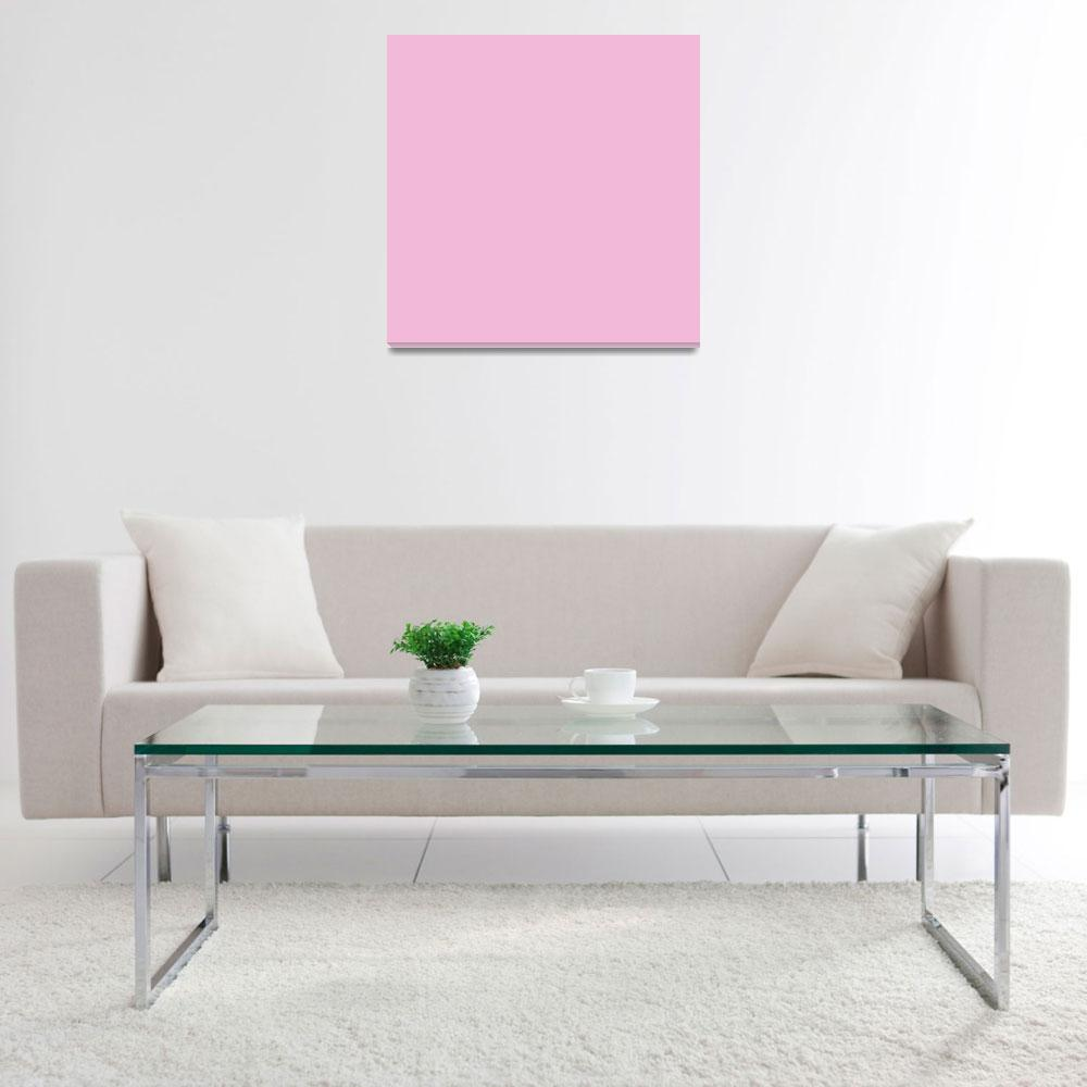 """""""Square PMS-243 HEX-F2BAD8 Pink&quot  (2010) by Ricardos"""