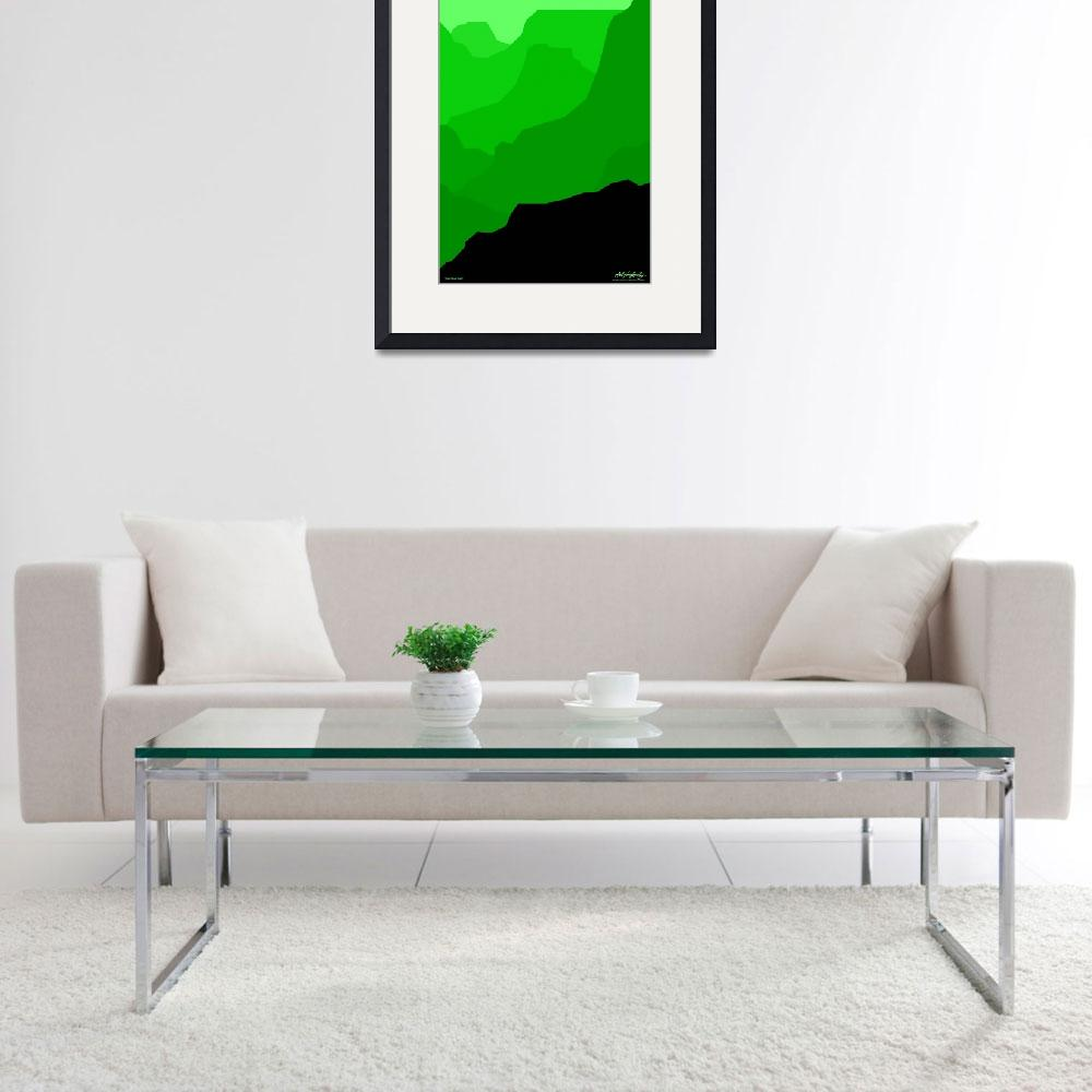 """""""Grand Canyon - green - Art Gallery Selection""""  by Lonvig"""