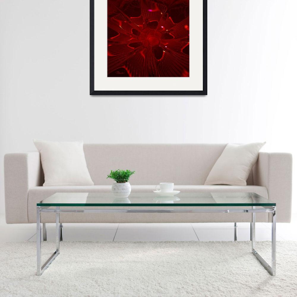 """""""Electric Red&quot  (2009) by PatriciaKemke"""