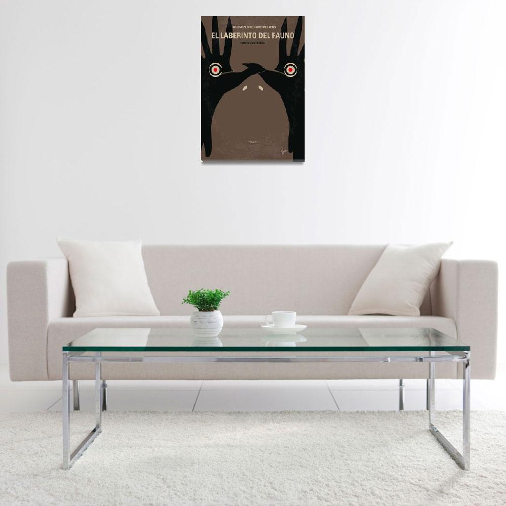 """No061 My Pans Labyrinth minimal movie poster&quot  by Chungkong"