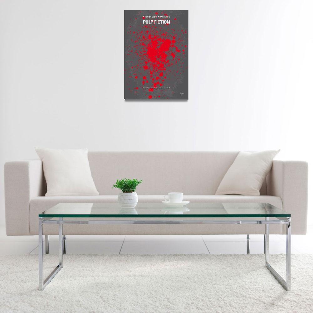 """No067 My Pulp Fiction minimal movie poster&quot  by Chungkong"