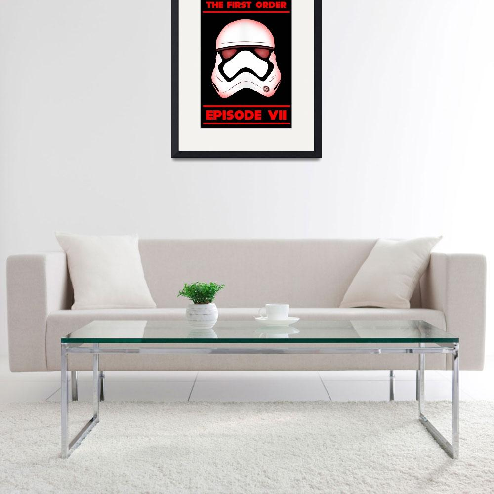 """""""The First Order - Stormtrooper - Episode VII&quot  (2015) by wcsmack"""