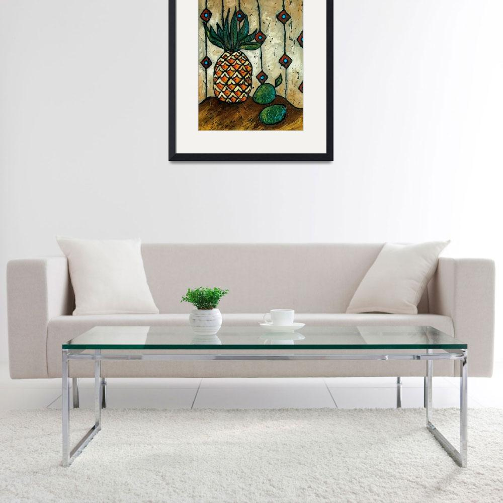 """""""Pineapple & Lime&quot  (2010) by solamar7"""