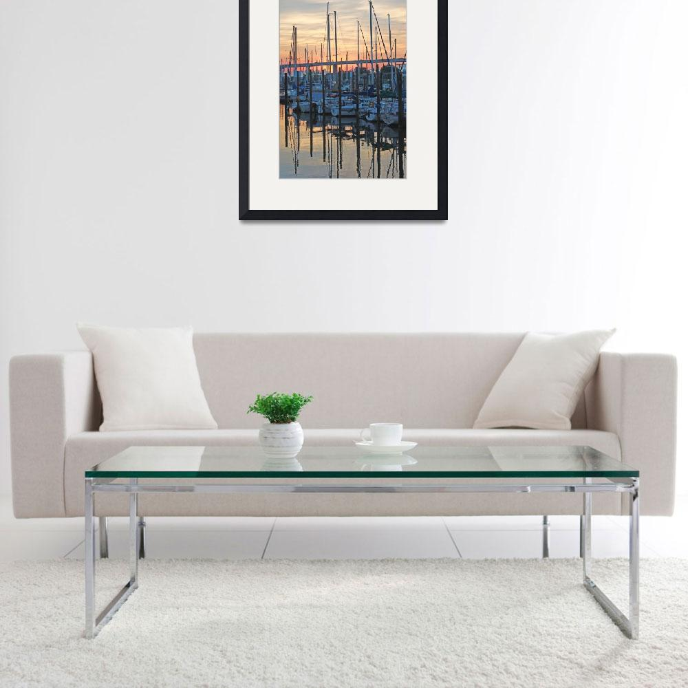 """""""Harbor at Sunrise&quot  by"""