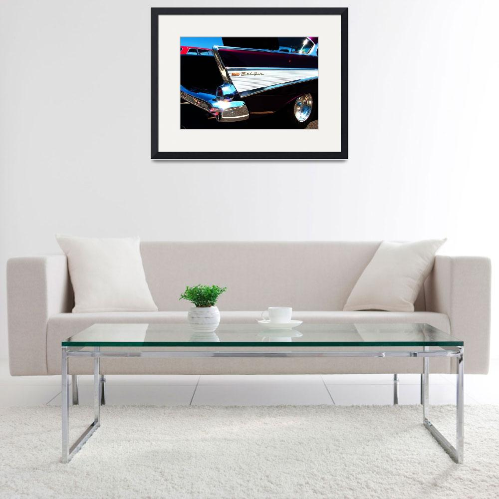 """""""Chevy Bel Air Classic Car&quot  (2012) by ACastelli"""