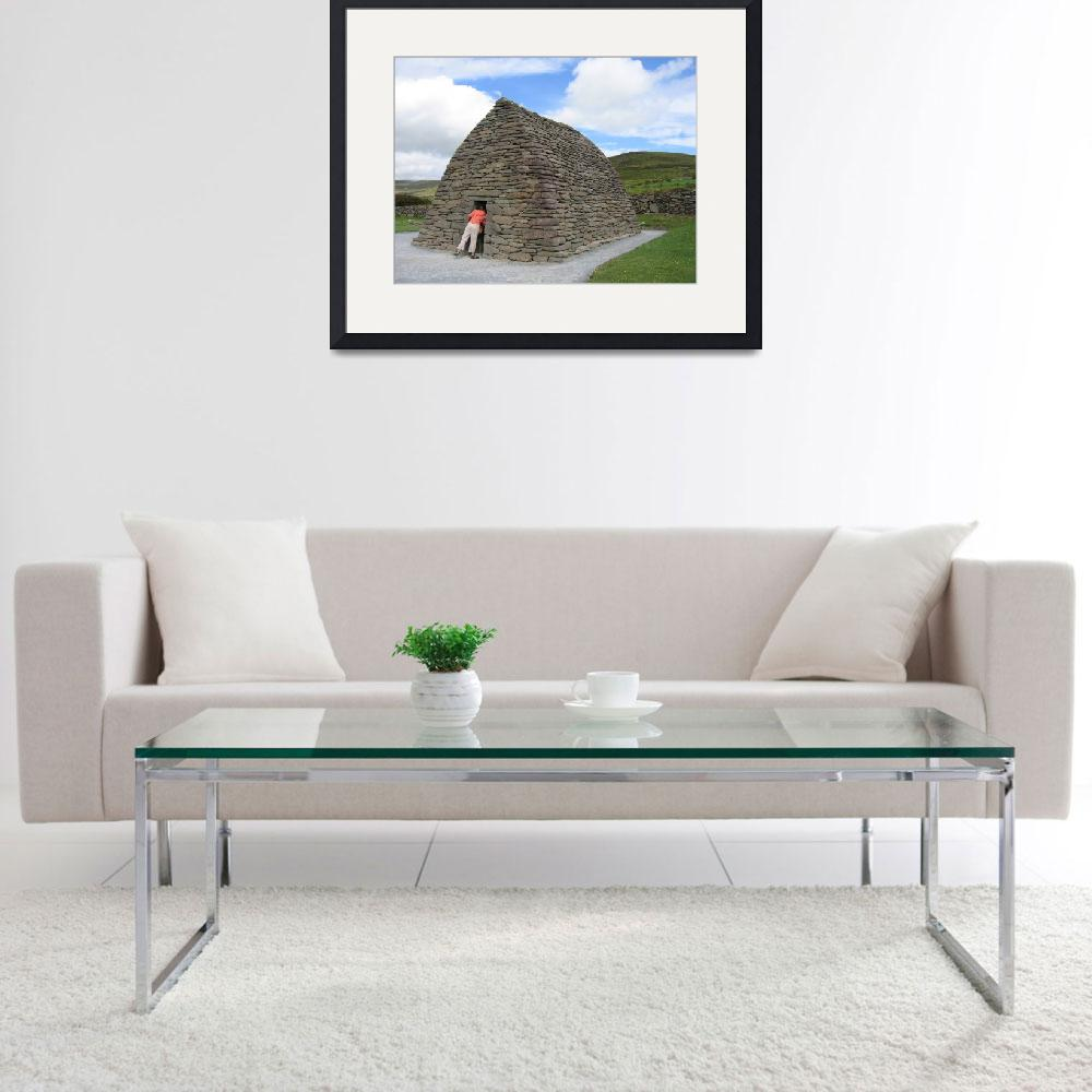 """""""Anyone Home? Galarus Oratory, Co. Kerry&quot  by turly"""