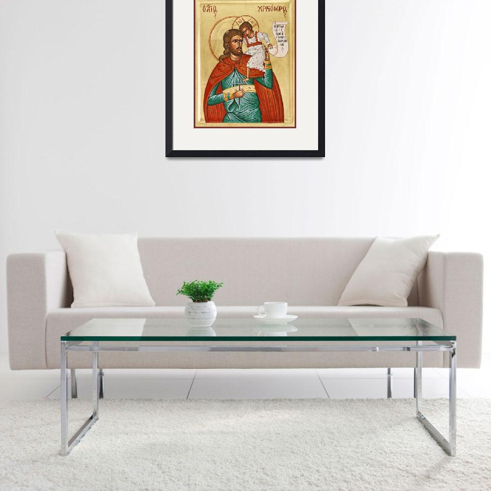 """""""St Christopher""""  (2005) by ikonographics"""