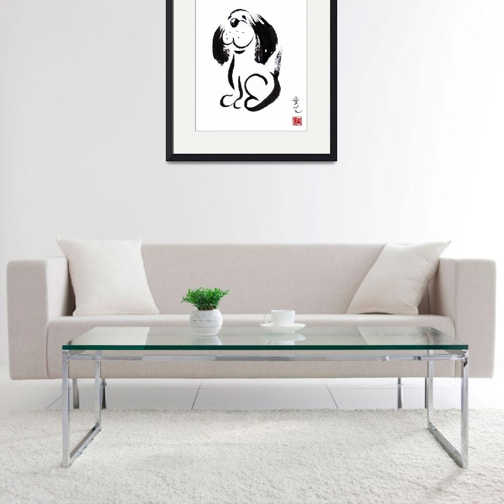 """""""Chinese Zodiac For Year Of The Dog&quot  (2018) by oystudio"""