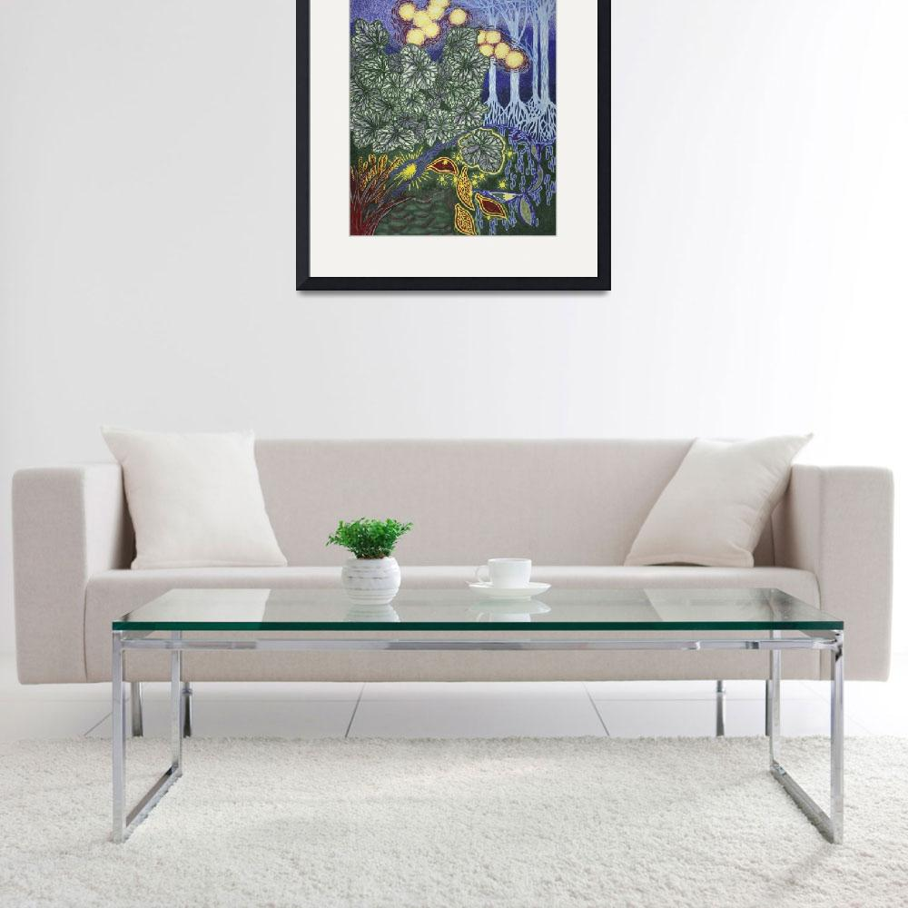 """""""Fine Art Prints Contemporary Abstract Modern Deco""""  (2008) by BasleeTroutman"""