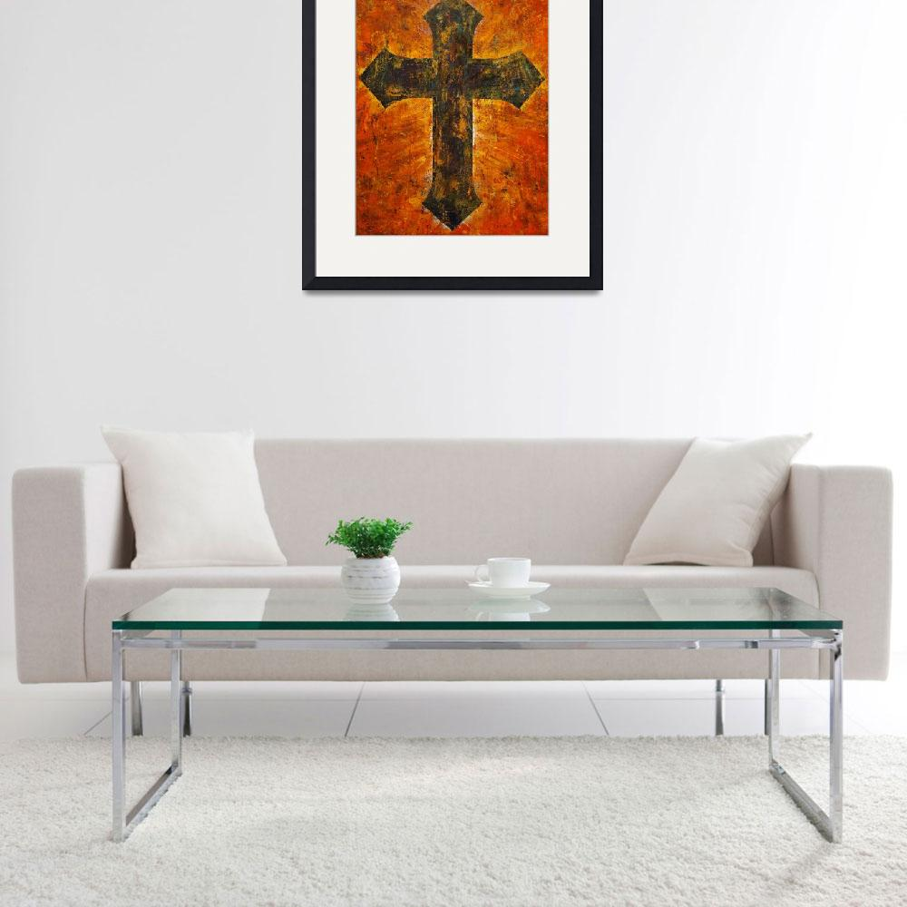 """""""Grunge Cross&quot  by creese"""