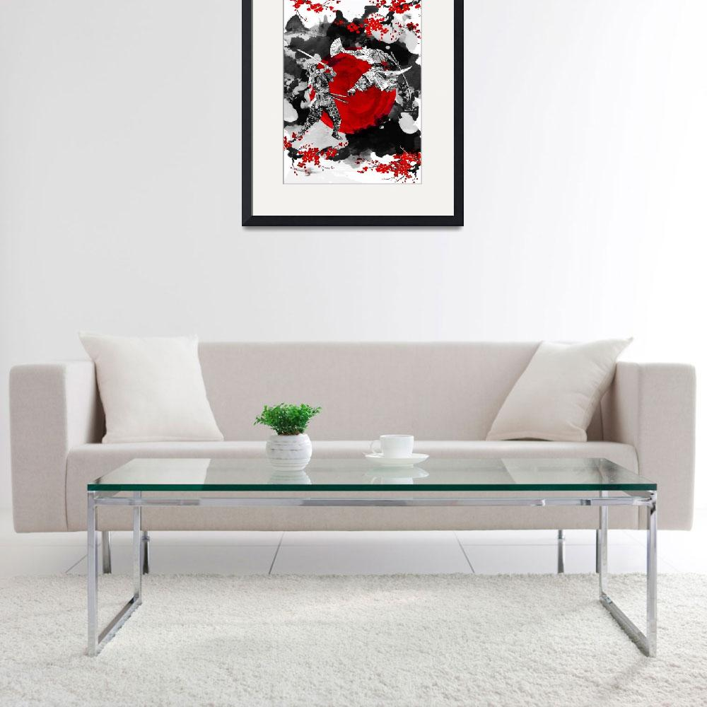 """""""Samurai Fighting&quot  (2016) by juyodesign"""