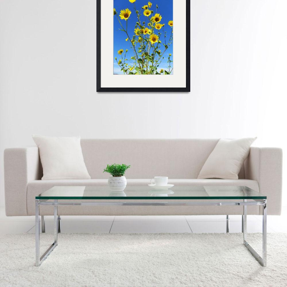 """""""Sunflowers Dancing In The Wind&quot  by artsandi"""