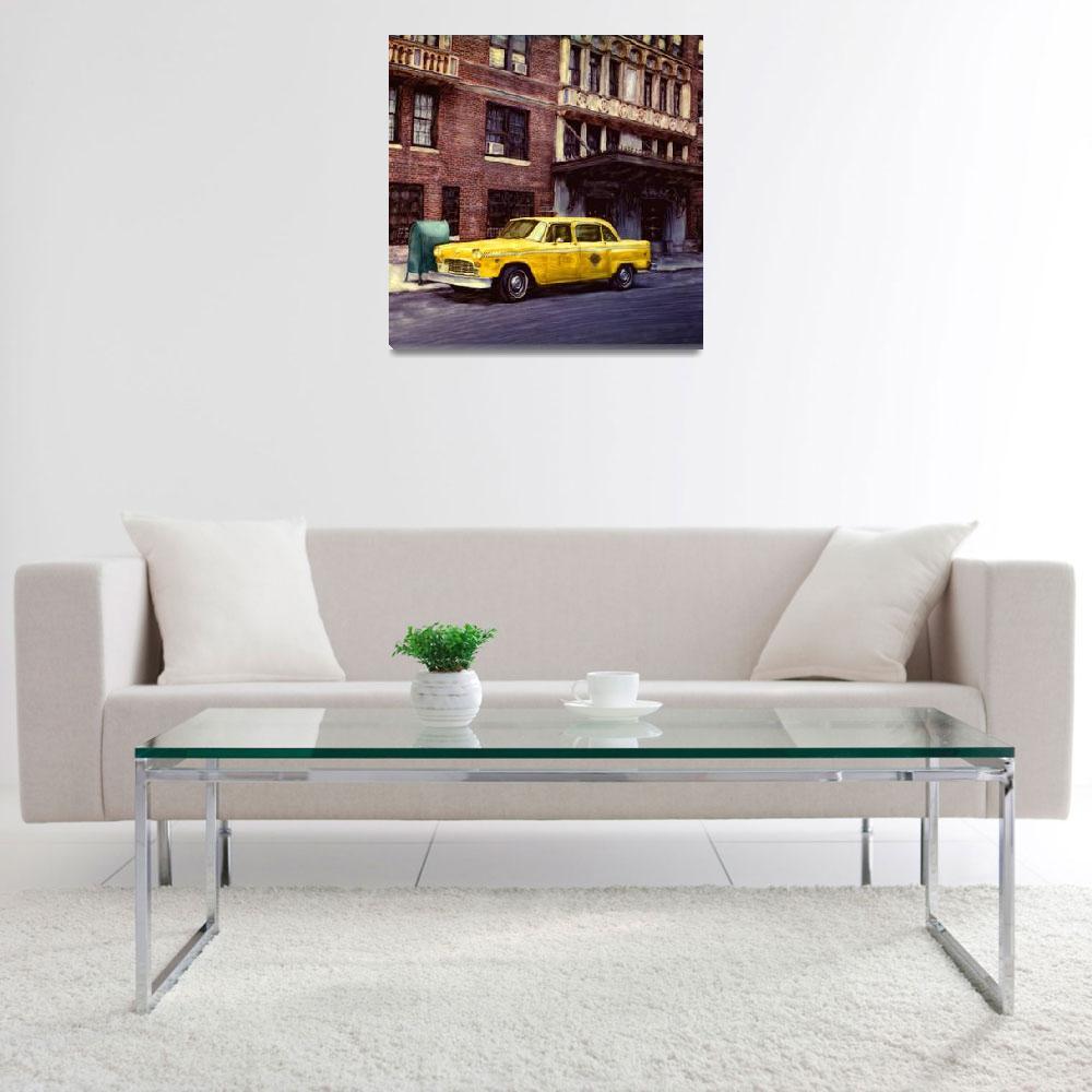 """New York, Checker Cab""  (2001) by joegemignani"
