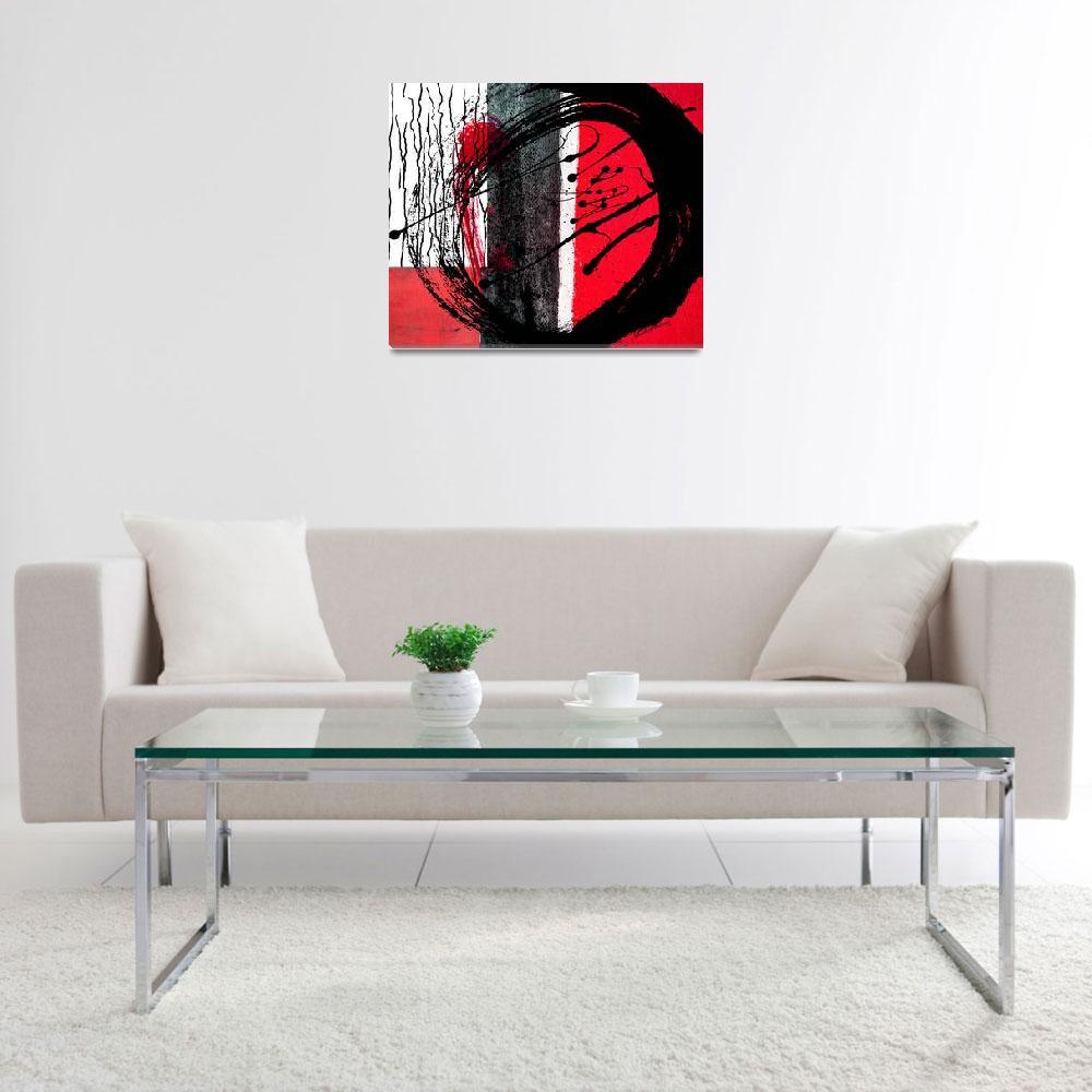 """RED HOT""  (2018) by ArtistYCBurney"