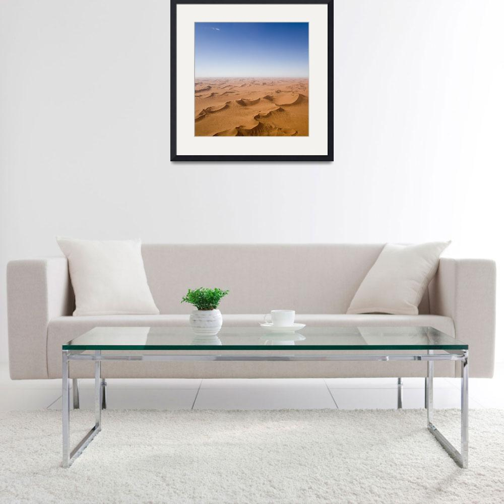"""Endless Desert Sand Dunes&quot  by mlenny"