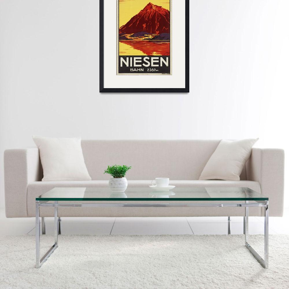 """""""Vintage poster - Switzerland""""  by mosfunky"""