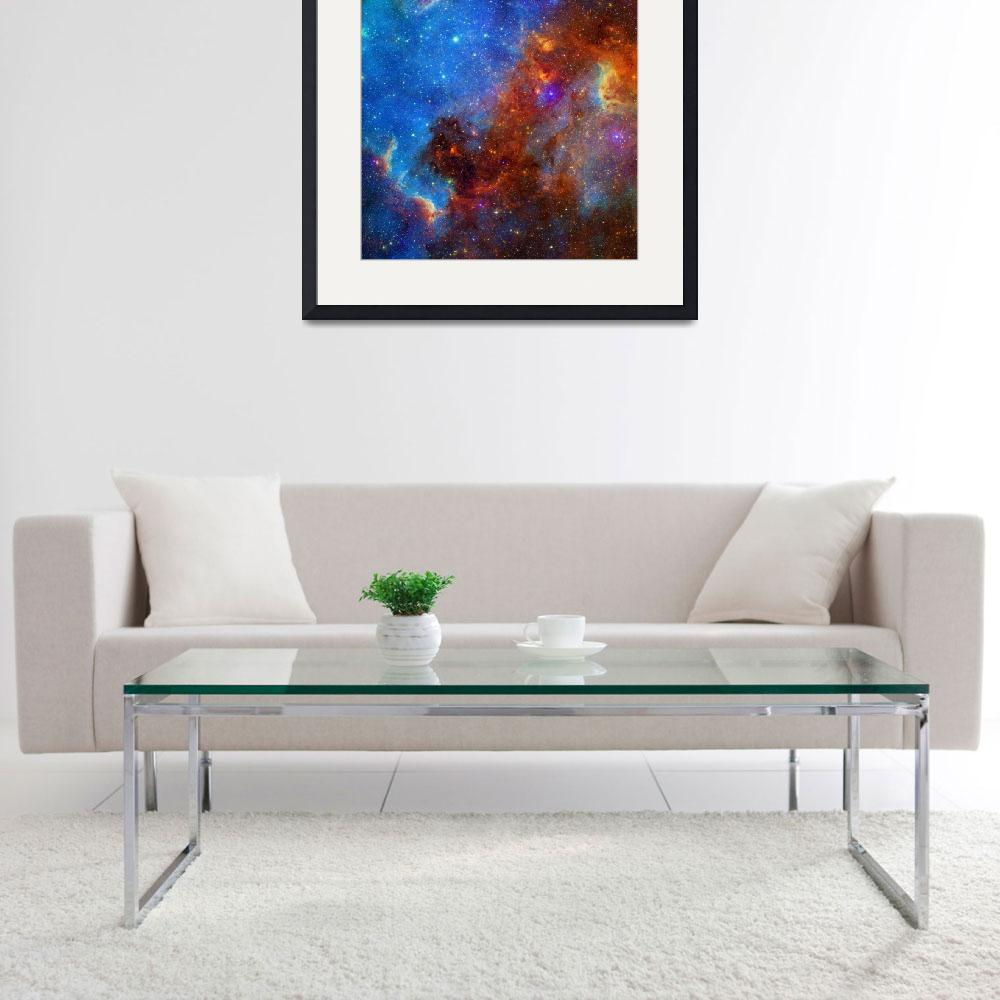 """North America Nebula NGC 7000 Caldwell 20&quot  by ArtHistory"