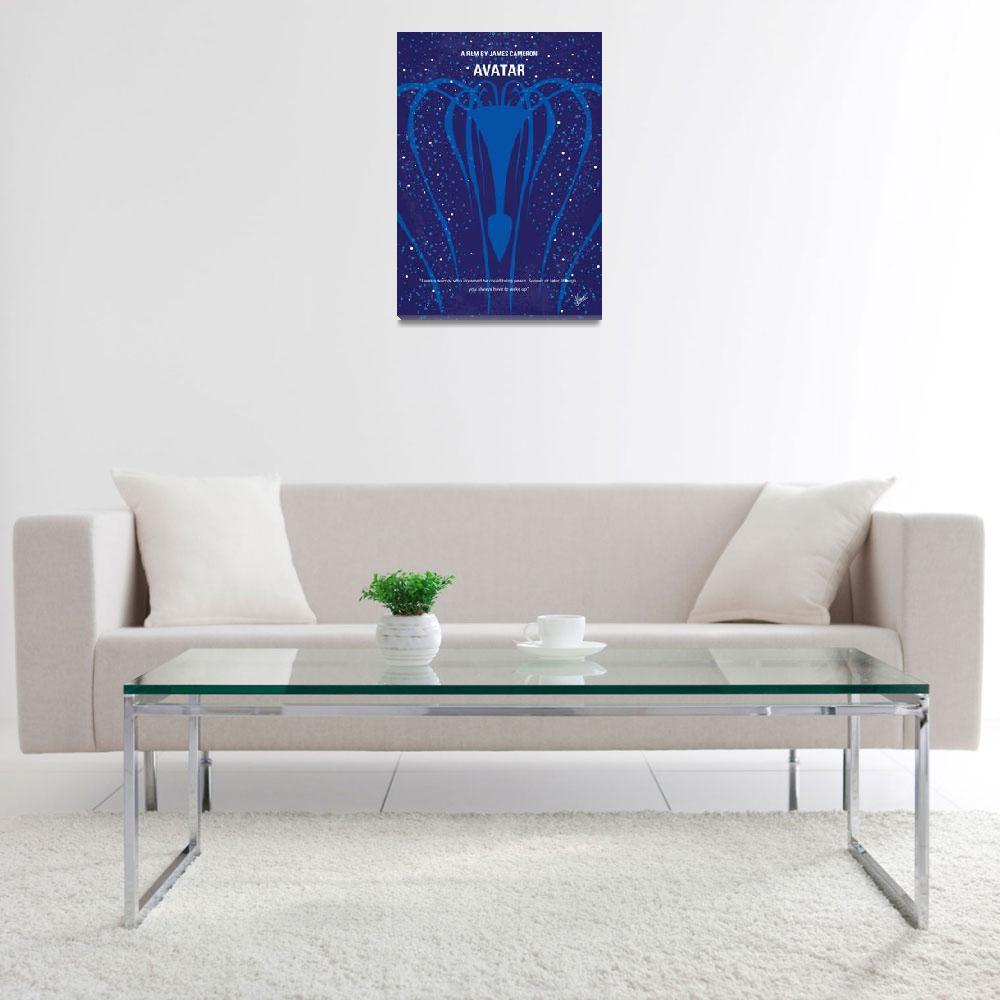 """""""No404 My Avatar minimal movie poster""""  by Chungkong"""