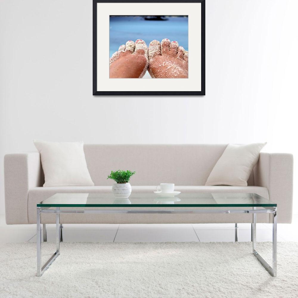 """Sandy Toes""  (2013) by ElephantNaturePark"