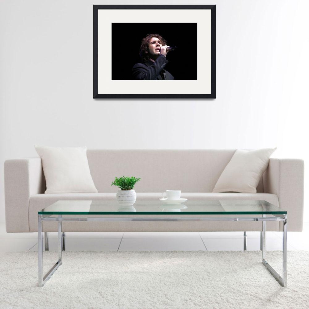 """Singer Josh Groban&quot  by FrontRowPhotographs"