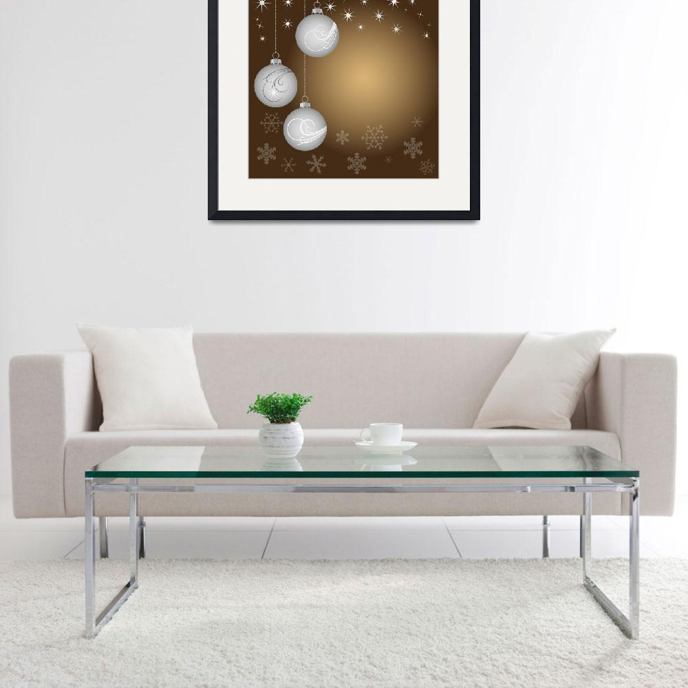 """""""Christmas decoration - Christmas balls&quot  by lamich"""