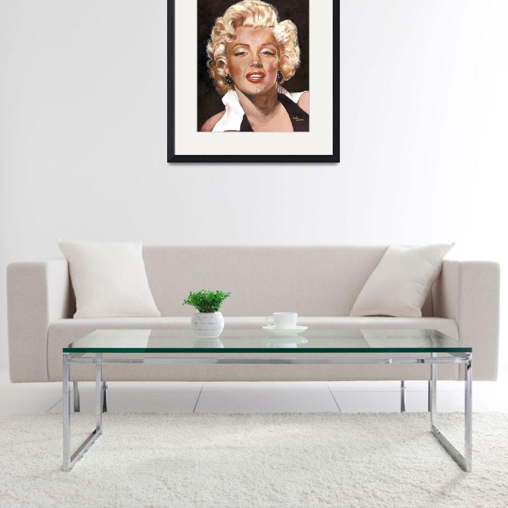 """""""Marilyn Monroe&quot  (1990) by GiniWahlen"""