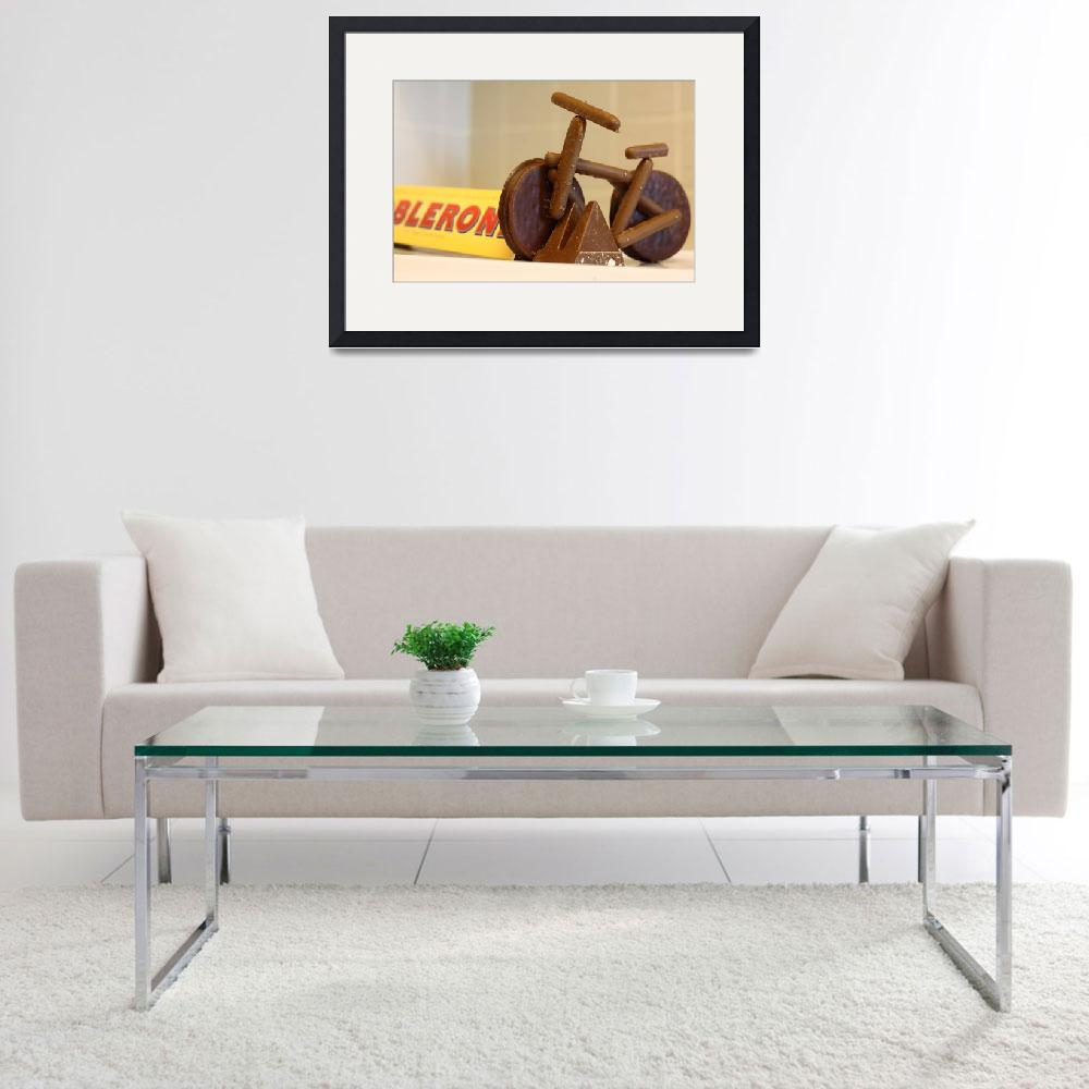 """""""Chocolate Bicycle&quot  (2010) by Dreamager"""