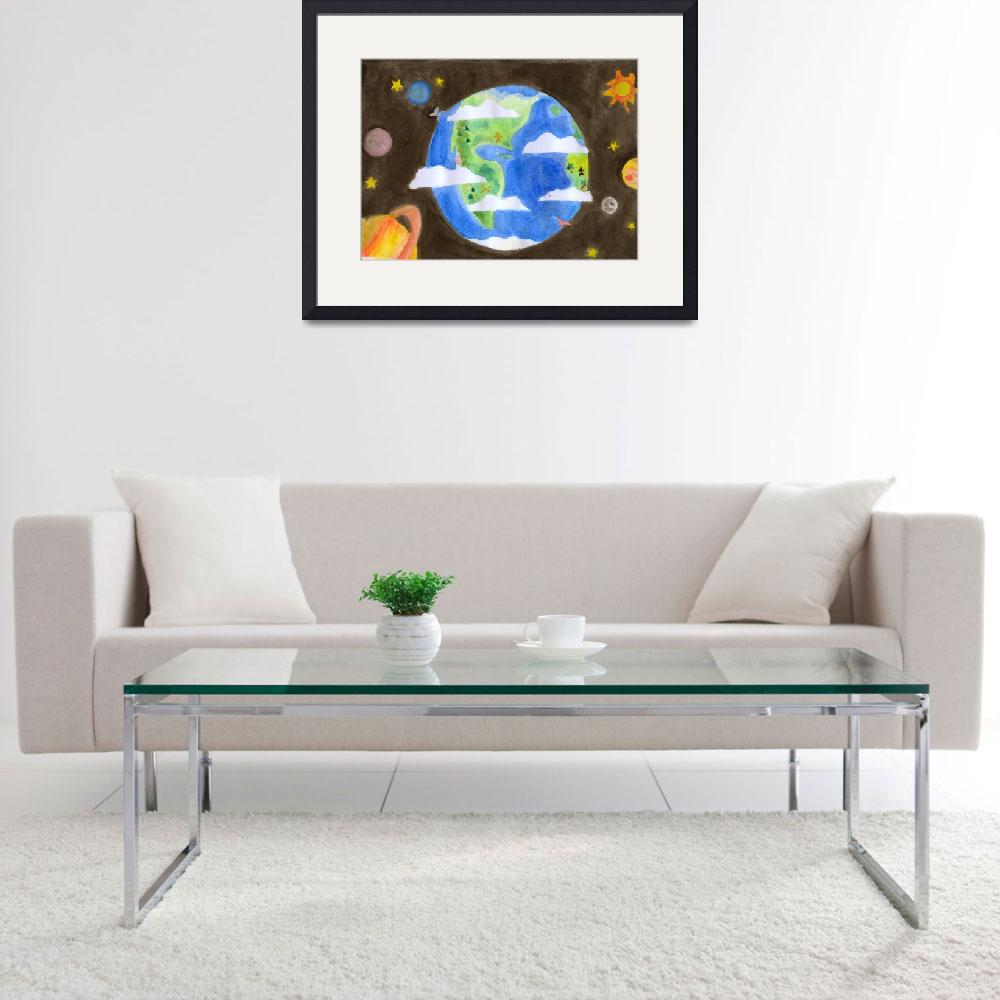 """""""MyWorld&quot  (2008) by AireenDeviani"""