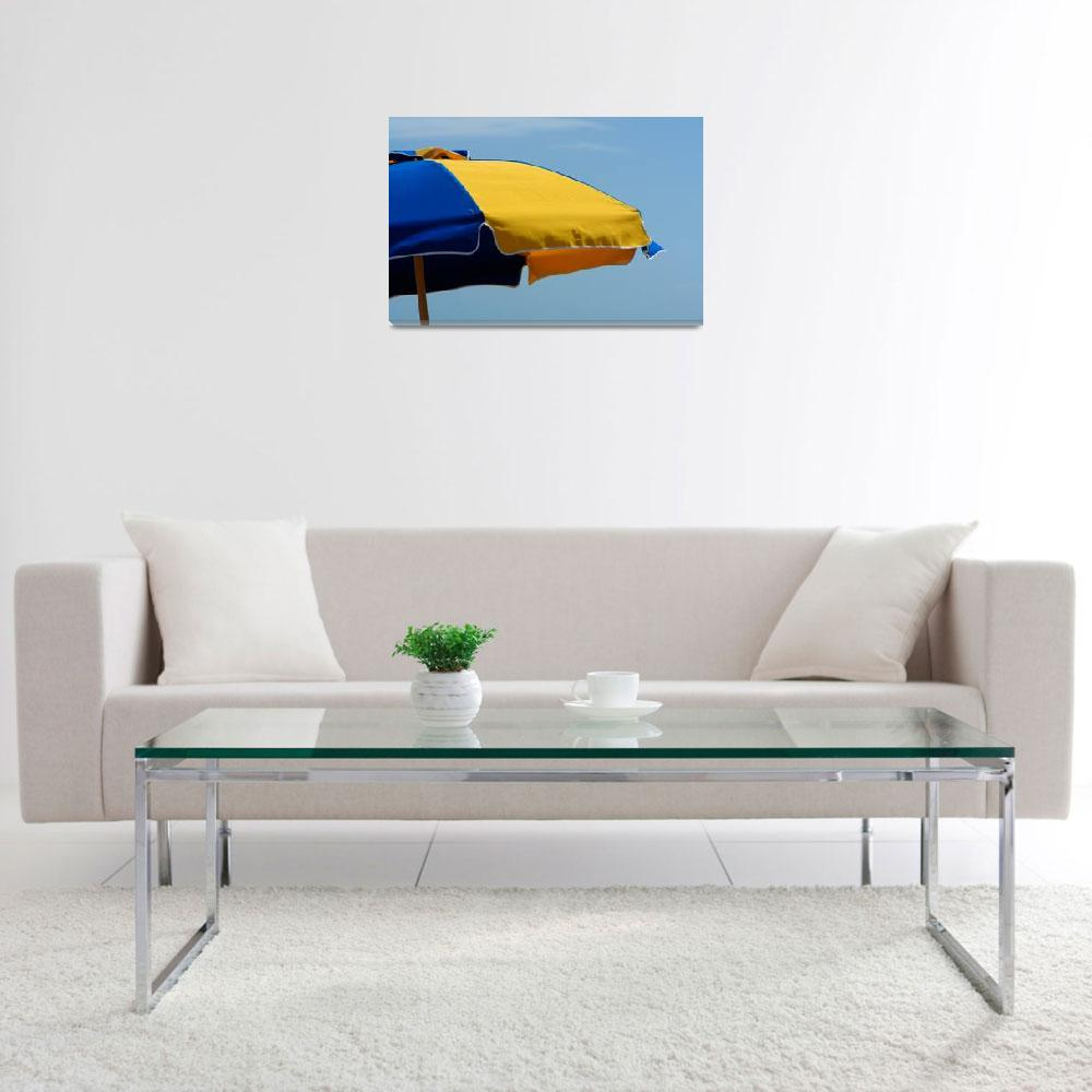 """Bright Umbrella""  by barbee"