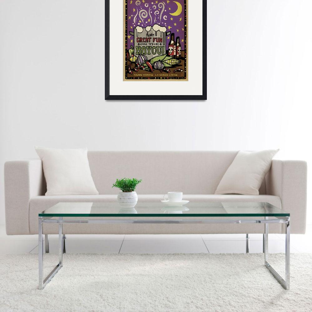 """""""Fun on the Bayou&quot  by artlicensing"""