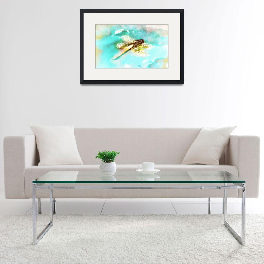 """""""Dragonfly Abstract""""  (2014) by LJdesigns"""