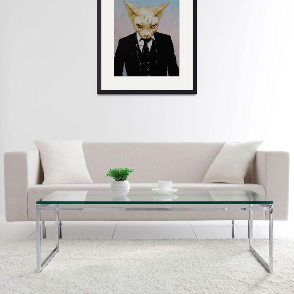 """""""Mister Cat&quot  by creese"""