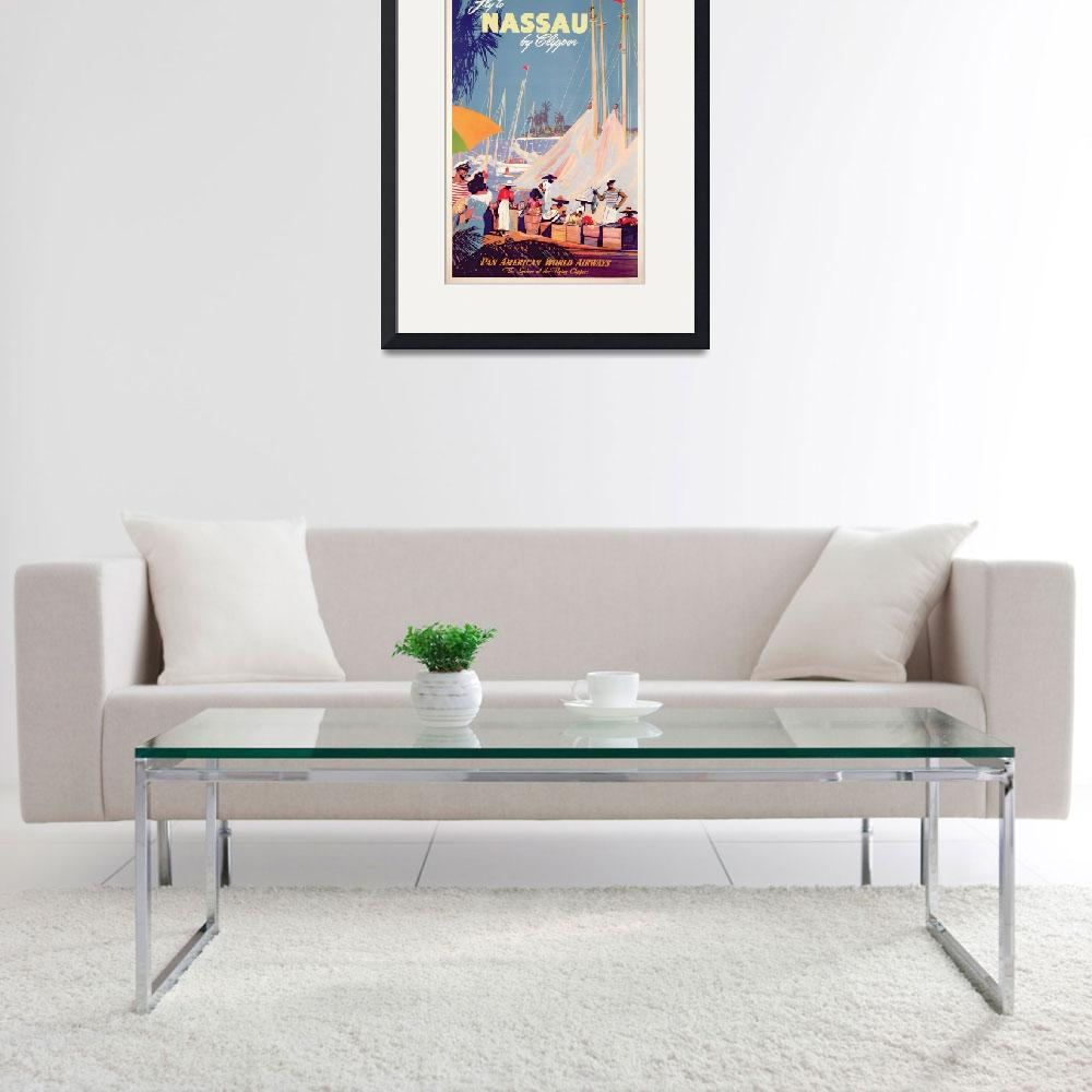 """Poster advertising Nassau""  by fineartmasters"