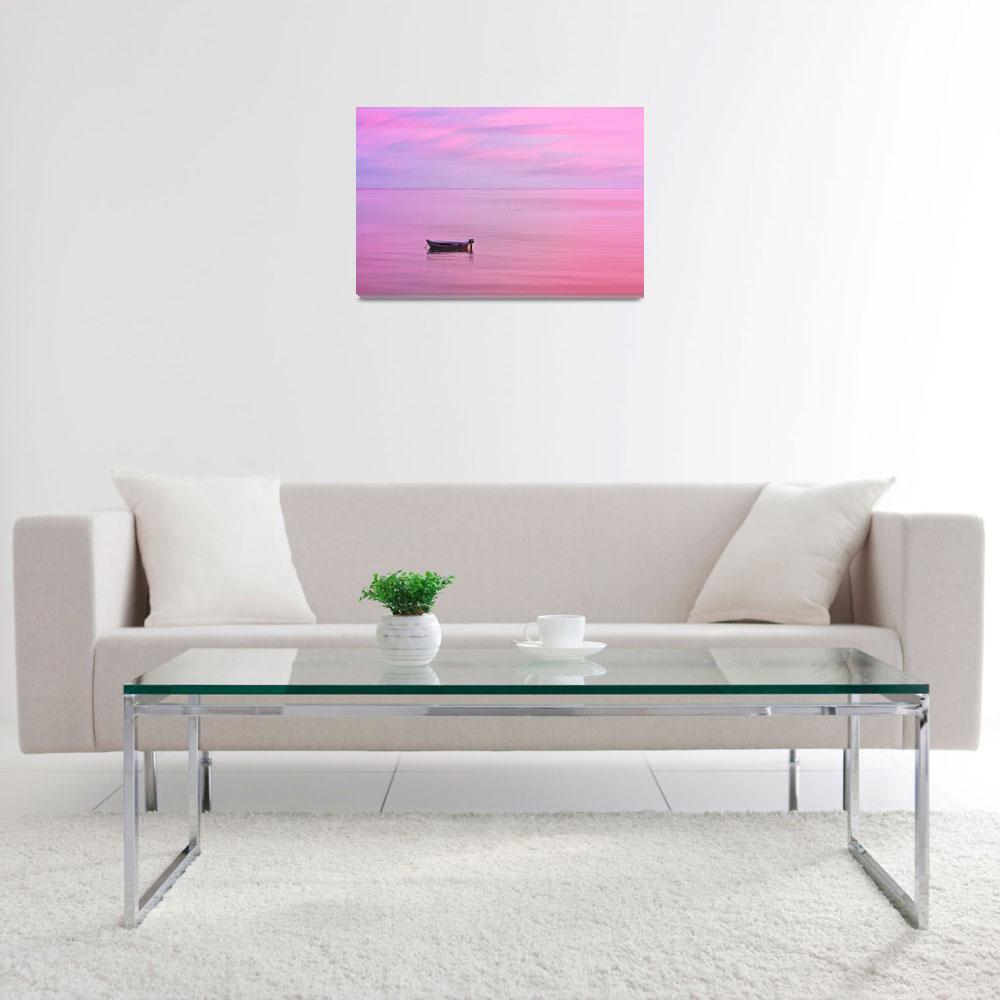 """""""Cape Cod : Pink Sunset&quot  (2019) by ChrisSeufert"""