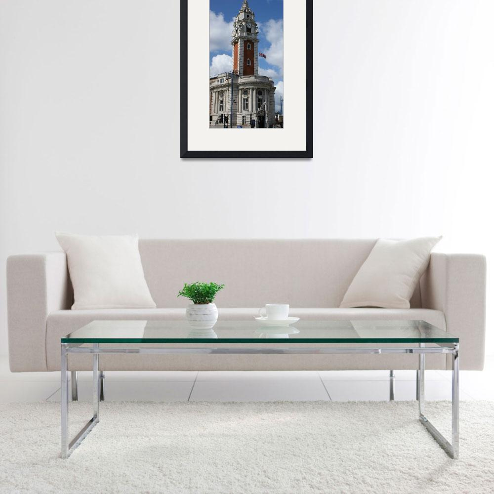 """""""Brixton Town Hall&quot  by chrisww59"""