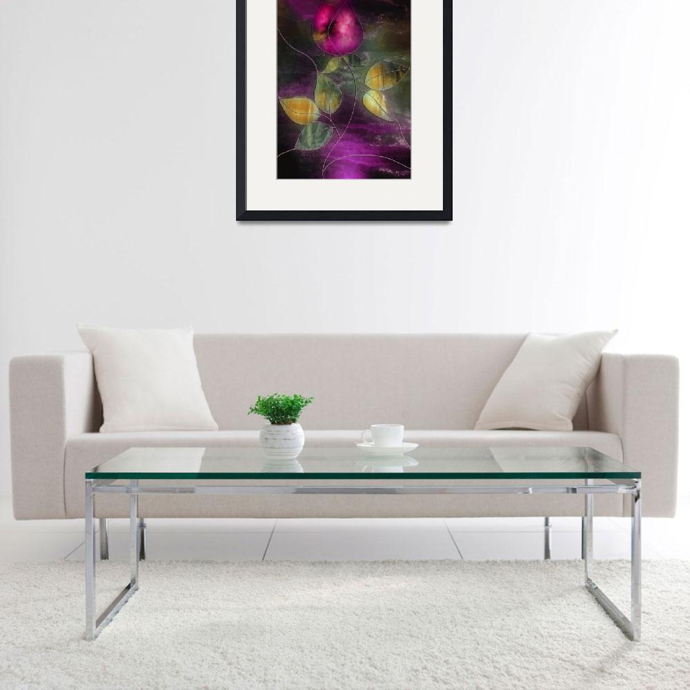 """""""Stained Glass Rose&quot  by artlicensing"""