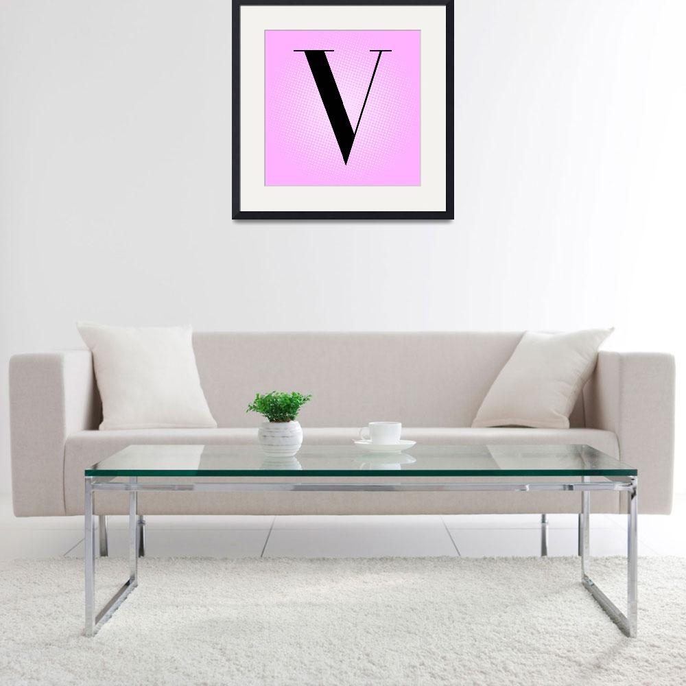 """""""V-VOGUE""""  by LetterPopArt"""