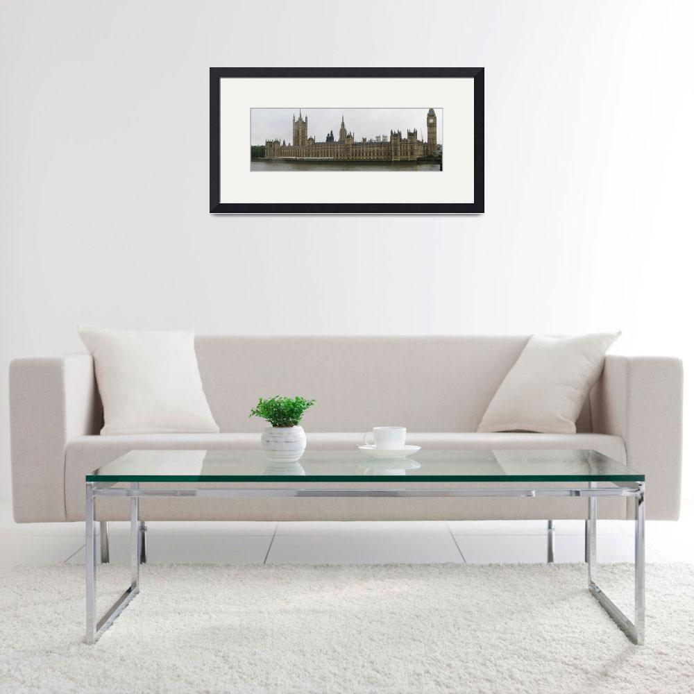 """Westminster Palace Panoramic&quot  (2008) by nwradu"