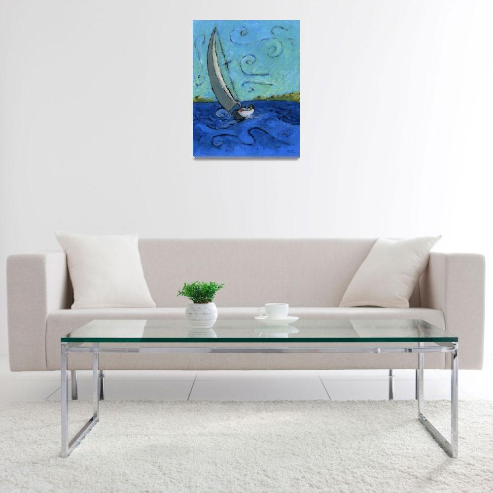 """An Afternoon Sail""  (2007) by Prestonart"