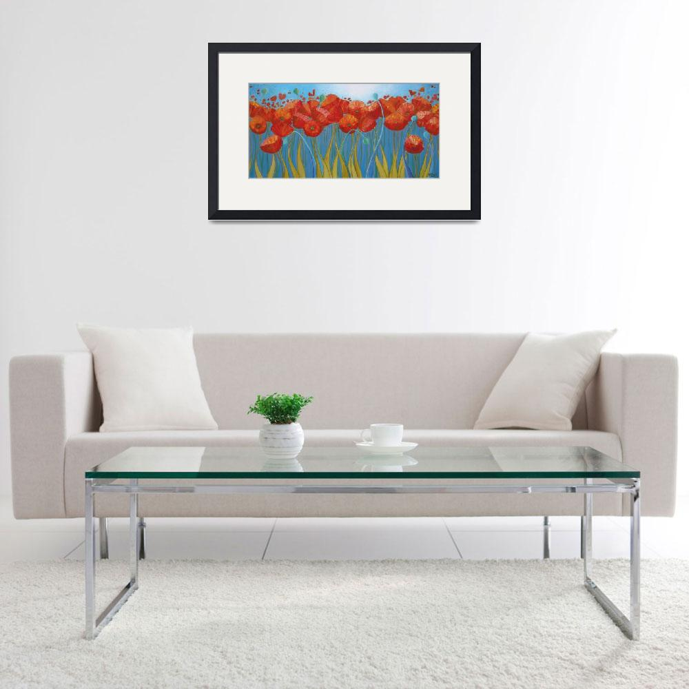 """""""Summer Poppies""""  (2010) by DreamGallery"""