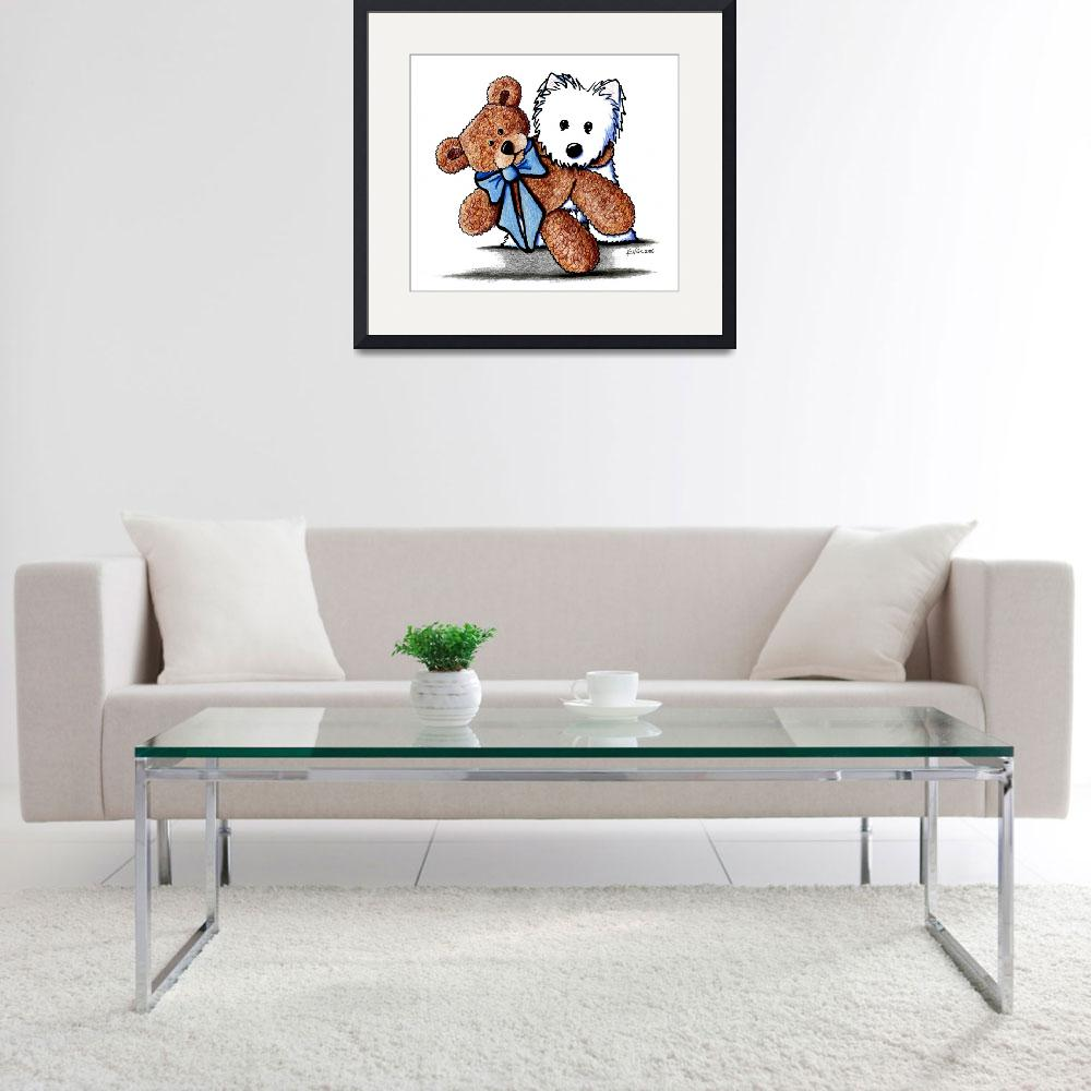 """""""Buddies&quot  (2006) by KiniArt"""