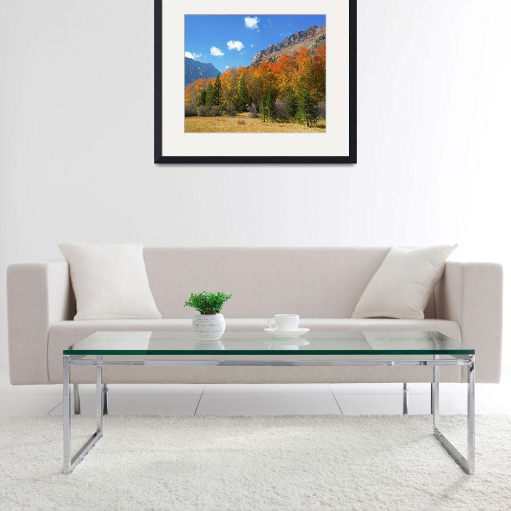 """""""Aspen Glory at North Lake&quot  (2015) by LynnBauer"""