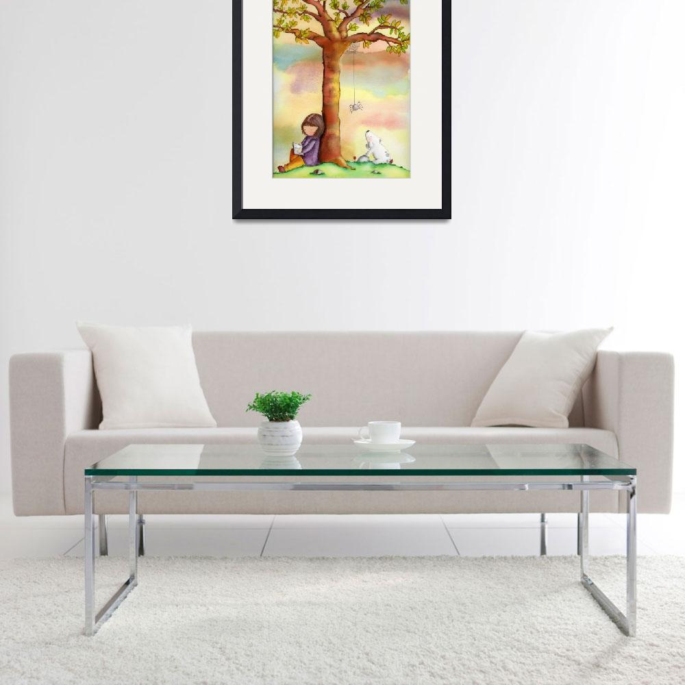 """""""By the tree&quot  (2007) by AliciaPadron"""