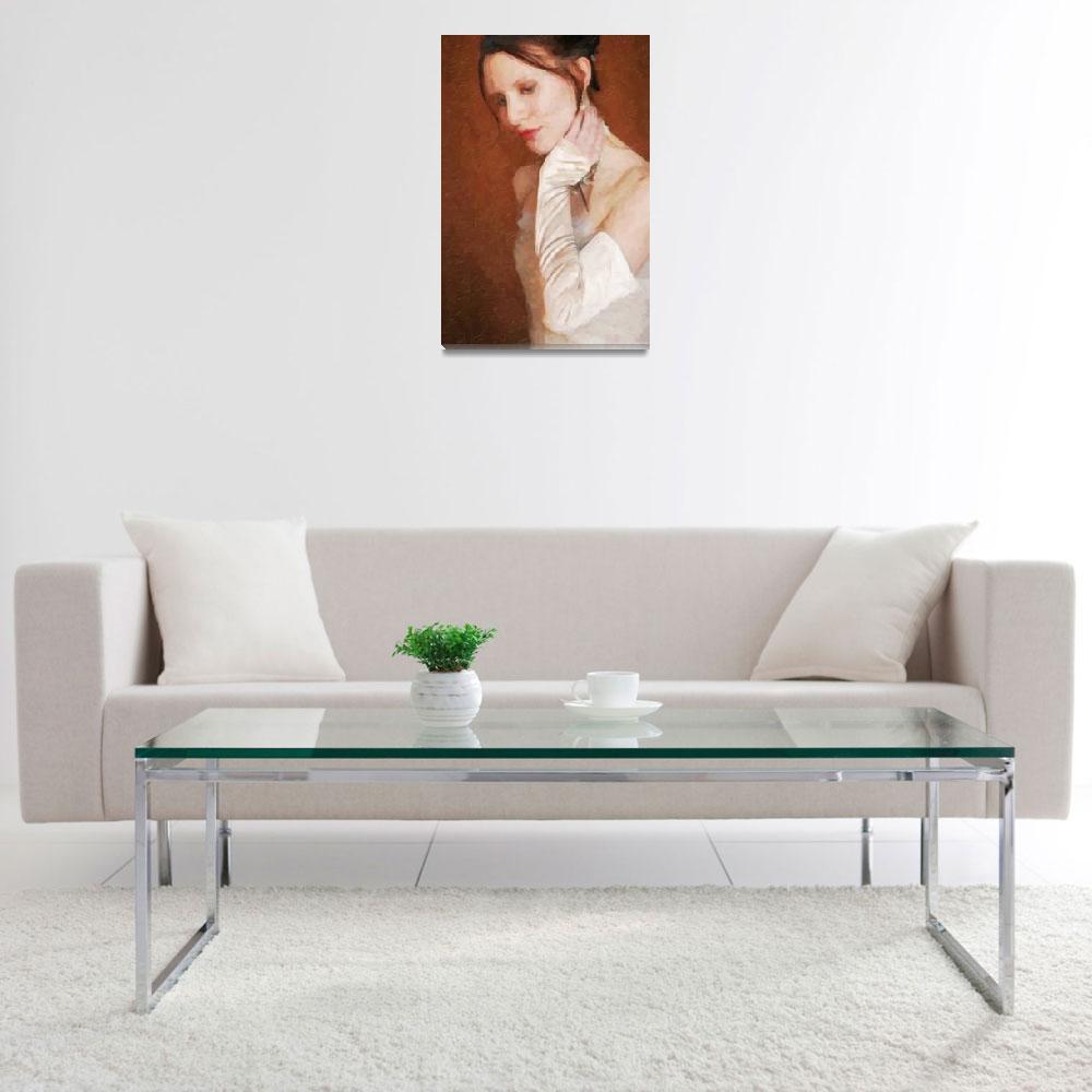 """Custom Oil Wedding Painting&quot  by Lemonjello"